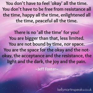 Feeling and Being Okay is Okay even if it is not Okay right now!